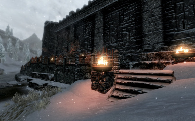 Windhelm Docks Pathways 16