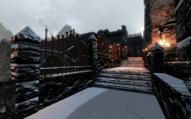 Windhelm Docks Pathways 18
