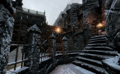 Windhelm Docks Pathways 19