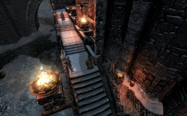 Windhelm Docks Pathways 21