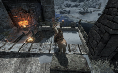 Windhelm Docks Pathways 24
