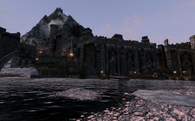 Windhelm Docks Pathways 02