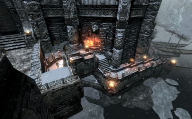 Windhelm Docks Pathways 04