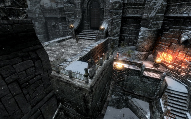 Windhelm Docks Pathways 06