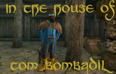 In the house of Tom Bombadil LoTR mod