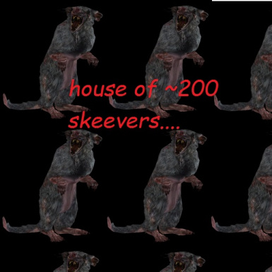 Cool beans and the house of approximately 200 skeevers