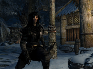 Black Velvet Dunmer Gear