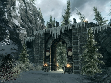 Icicle Valley central gate