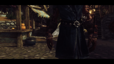 Feral And Hungry - Dawnguard Bloodstained Clothes Retexture