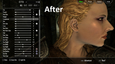 Vanilla Rough and Age Face Replacers