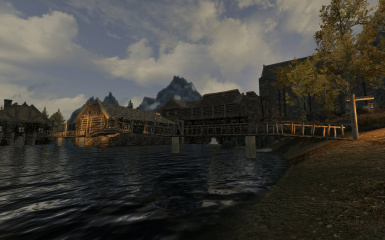 Riften Docks Pathways 01