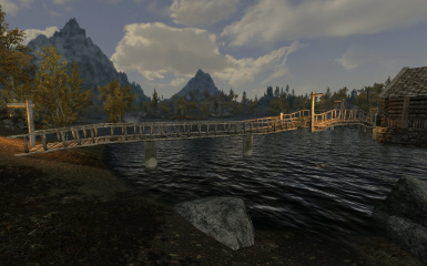 Riften Docks Pathways 02