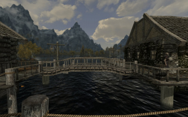 Riften Docks Pathways 03