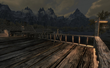 Riften Docks Pathways 15