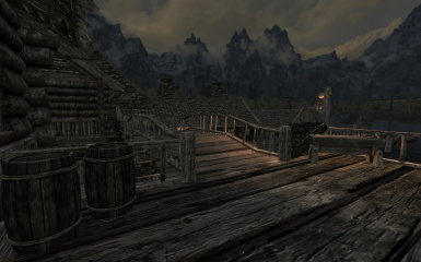 Riften Docks Pathways 16