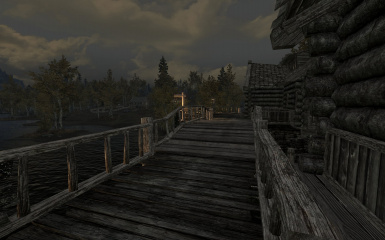 Riften Docks Pathways 17