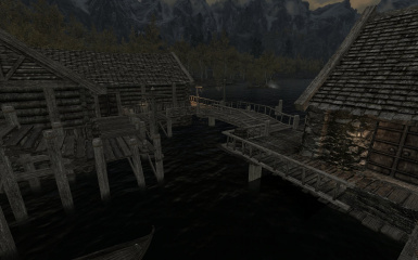 Riften Docks Pathways 20