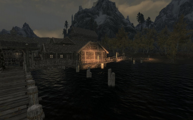 Riften Docks Pathways 22