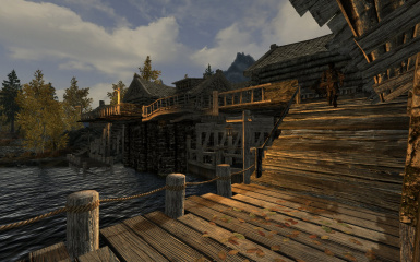Riften Docks Pathways 05