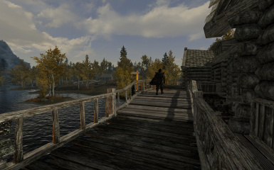 Riften Docks Pathways 06