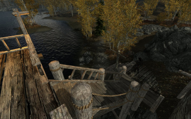 Riften Docks Pathways 08