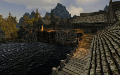 Riften Docks Pathways 10