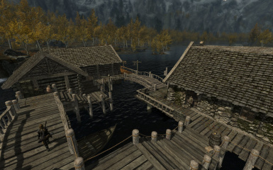Riften Docks Pathways 11
