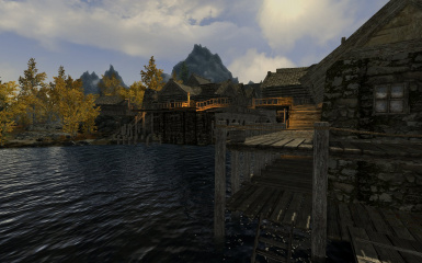 Riften Docks Pathways 12