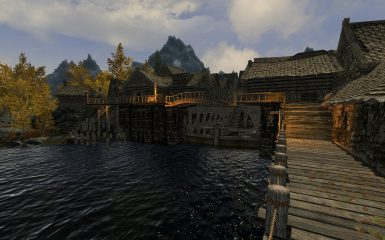 Riften Docks Pathways 13