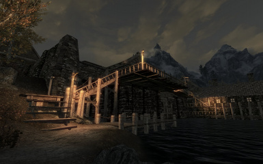 Riften Docks Pathways 14