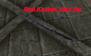 God Katana With Soul Trap(OneHit)(ReallyFastHit)