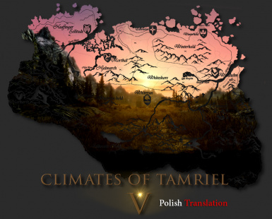 Climates Of Tamriel V - Polish Translation