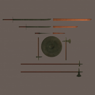 Weapon model resource medieval Orc