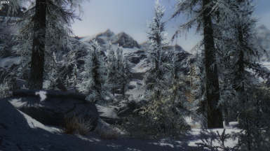 AFTER Dawnstar - Secret Entrance Door is inside the rocks closest to the camera not visible until relevant mission