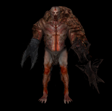 Beta Flesh Atronach Concept Design