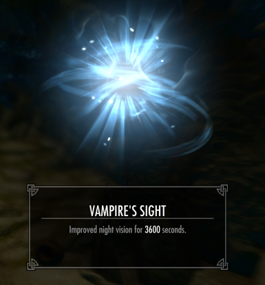Vanilla Night Eye And Vampire Sight Last One Hour