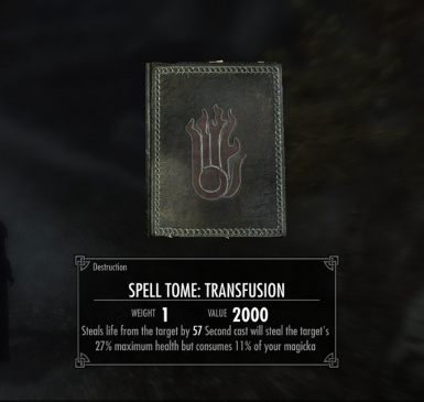 Transfusion - Absorb spell