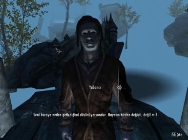 Gifts of the Outsider - Dishonored in Skyrim Turkish Translation