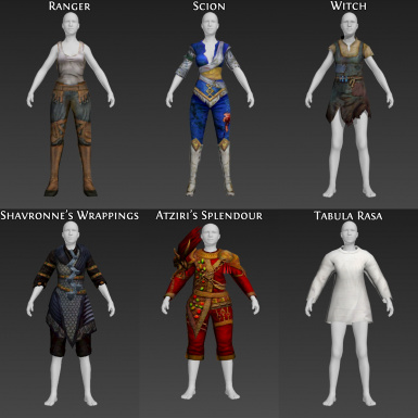 Path of Exile Clothing