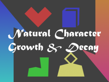 Natural Character Growth and Decay