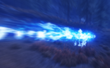 Blue Fire Magic