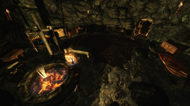Whiterun Cave Den Home