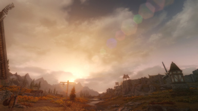 2016 06 30 Whiterun Sunset