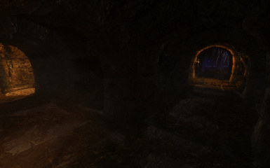 A small passageway leads us to