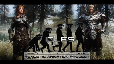 Realistic Animation Project - Idles