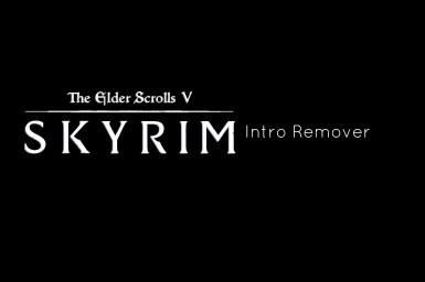 Scriptless and NMM Compatible Bethesda Intro Remover