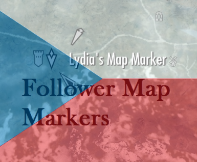 CZ Follower Map Markers Complete Pack CZECH Translation