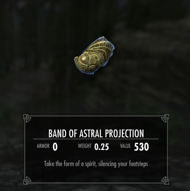 Band of Astral Projection (Ghost Ring)