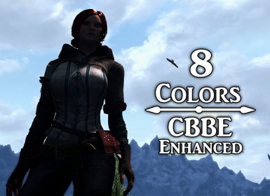 Triss Armor Retextured CBBE HDT - Enderal Patch