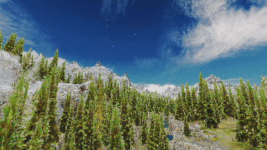 Realistic HD Tree LOD Textures